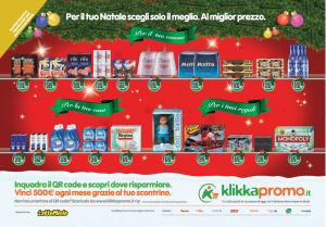 Lo scaffale virtuale di Klikkapromo, in metropolitana